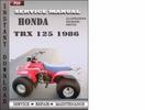 Thumbnail Honda Trx 125 1986 Service Repair Manual Download