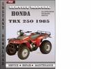 Thumbnail Honda TRX 250 1985 Service Repair Manual Download