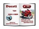 Thumbnail Ducati 750 1991-1996 Service Repair Manual Download